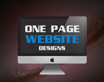 One Page Quality Website Design
