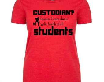 788dbf1b Teacher Shirt Teacher T-Shirt Teacher Gift Teacher Tshirt Teacher Tee  School Custodian Shirt