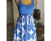Pinkerton Anthropologie Cross Back Vintage Dress