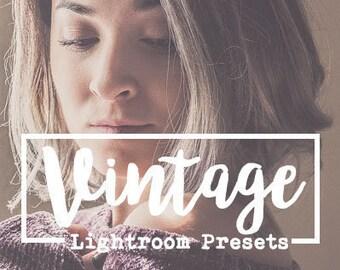 Vintage Lightroom Preset Pack