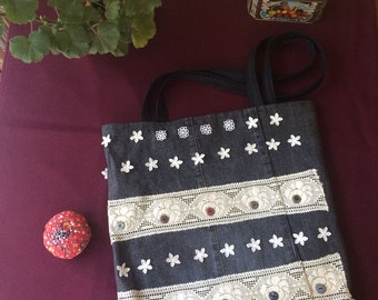 denim cloth bag