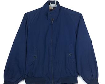 Vintage Baracuta Harrington Jacket made in England dark blue colour 1218122d8d