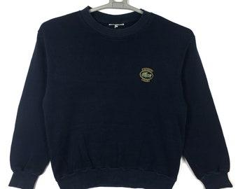 2d661fb0e9d 90s LACOSTE knit sweatshirt size 3