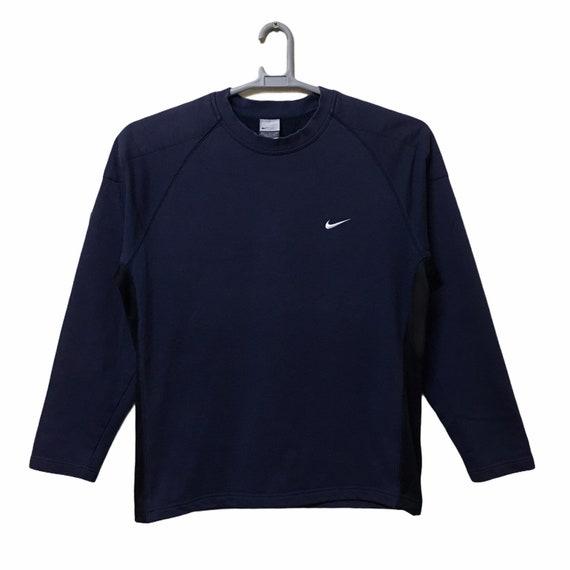 Vintage nike swoosh small logo sweatshirt