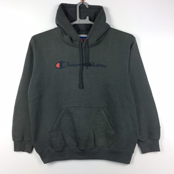 Vintage Champion Hoodie Pullover Sweatshirt L size