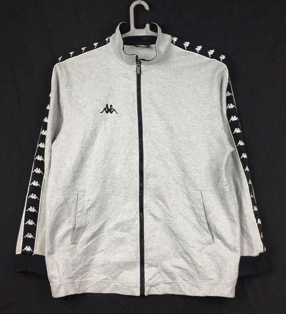 Vintage Kappa side taped Zipper Sweatshirt L size