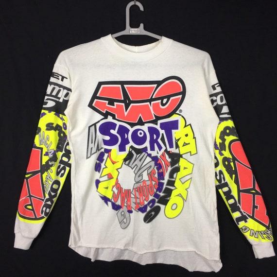 90s AXO Sport Motocross Jersey Dirkbike Motocross