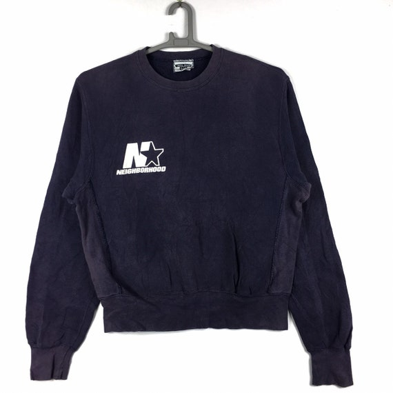 Vintage 90s Neighborhood Japanese Brand Sweatshirt