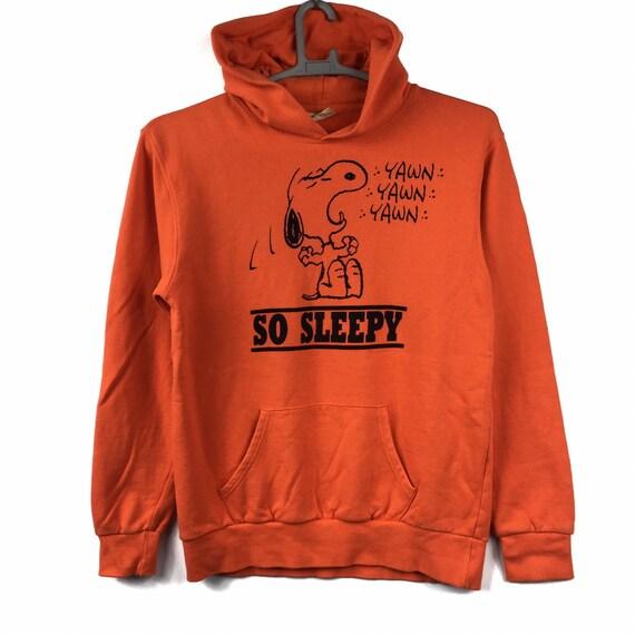 Peanuts Snoop Hoodie Pullover Sweatshirt