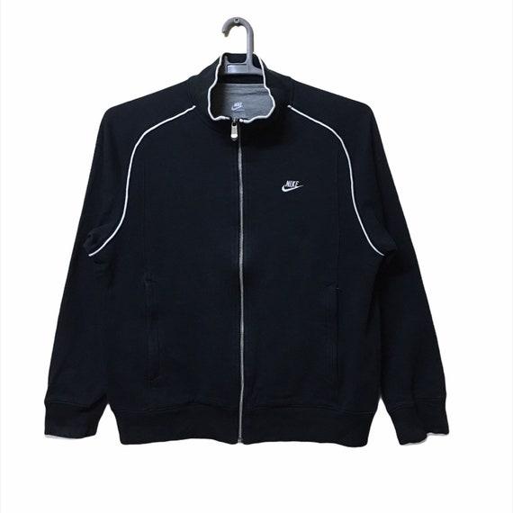 Vintage 90s NIKE Small logo full zipper Sweatshirt