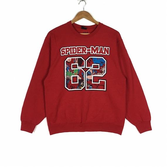 Vintage Spiderman Marvel Sweatshirts M Size