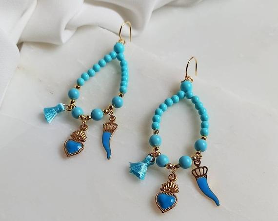 Large Chandelier Earrings