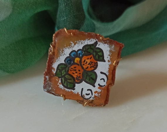 Square Tile Ring
