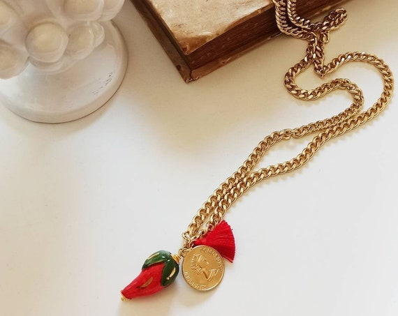 Lonn chain necklace with pendants