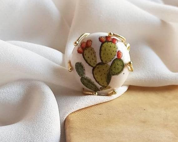 Sicily Ceramic ring