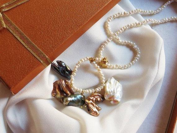 Bride Pearl necklace