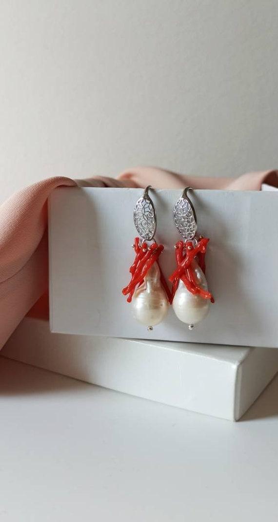 Bridal Peal earrings