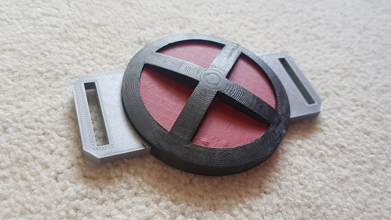 Deadpool Belt Buckle 3D Printed