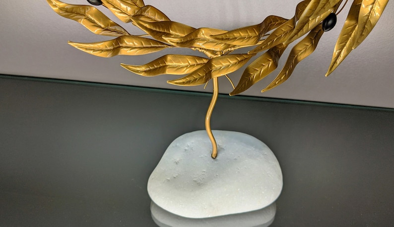 Bronze olive tree.Olive tree,bronze tree,home decor,decoration gift,tree sculpture,gift ideas,sculpture,tree of life