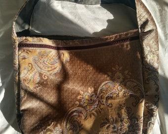 dd39b6fcc1 Infinity Bag in Ornate Velvet - Upcycled
