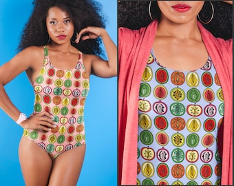 00a862ef7fe Lesbian swimwear | Etsy