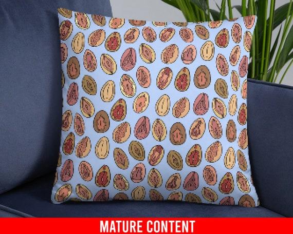 Throw Pillow Vagina Pillow Lesbian Gift