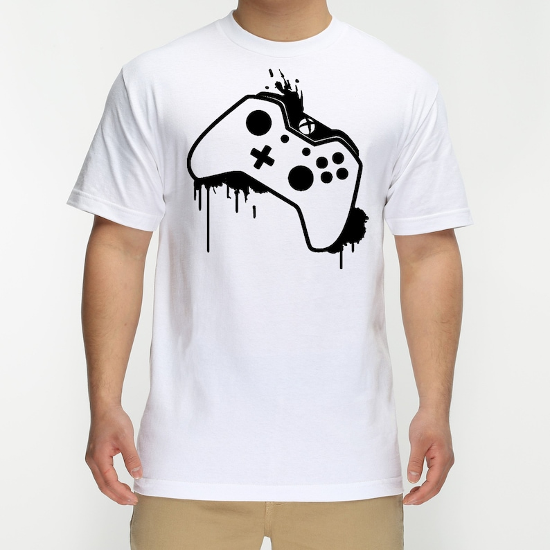 XBOX CONTROLLER Kids Xbox T-shirt Garçons Filles Console Gaming Gamer Rétro Top