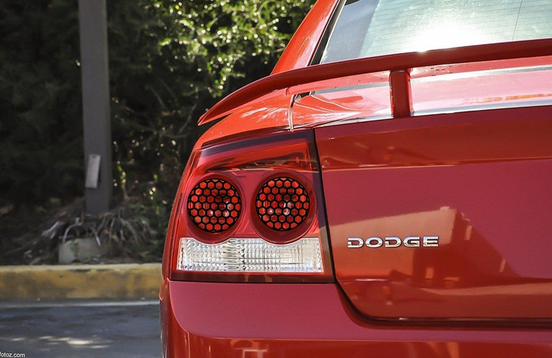Dodge Charger Tail Lights >> Custom Honeycomb Vinyl Decal For Tail Lights Dodge Charger Etsy