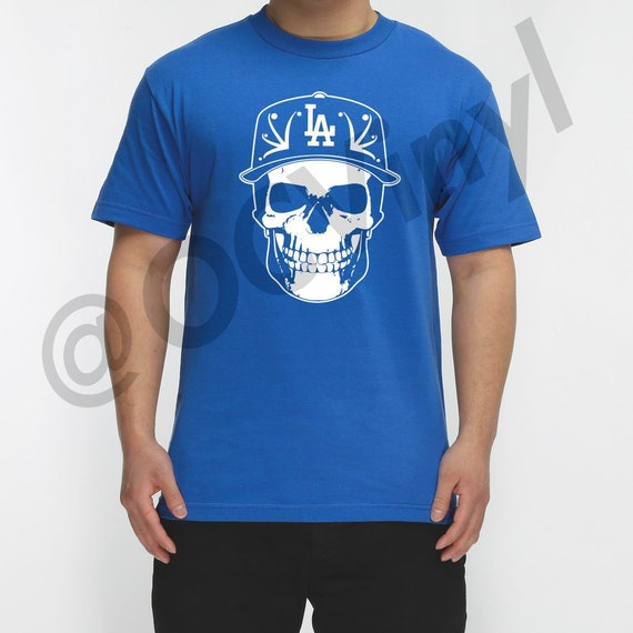 caa6808115c Los Angeles Dodgers Shirt Skull Dodgers Los Angeles