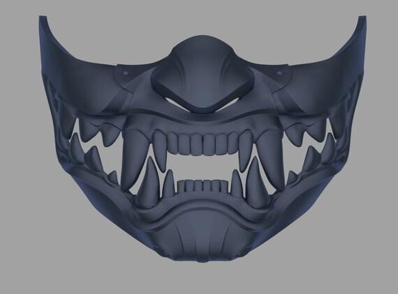 Kitana Samurai Mask From Mortal Kombat 11 3d Model Stl And Etsy