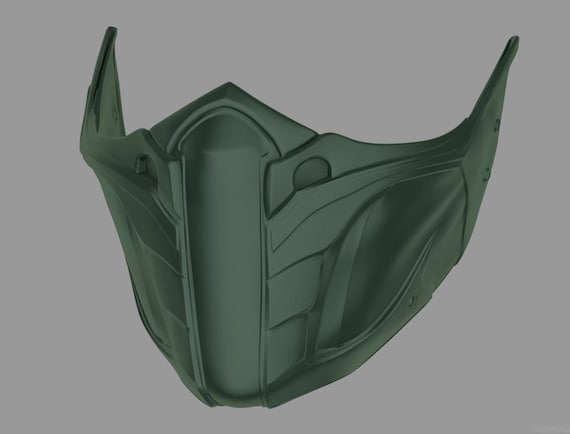 Jade Skarlet Kitana Mileena Female Mask From Mortal Kombat Etsy