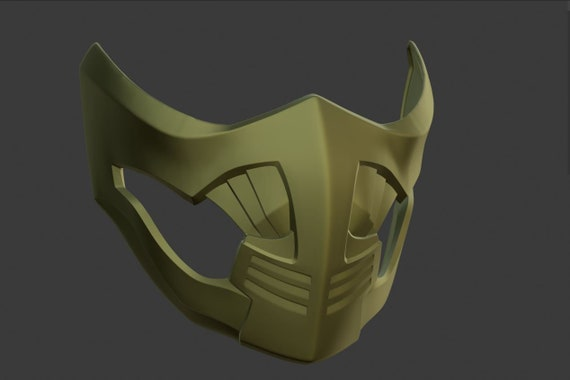 Scorpion Mask From Mortal Kombat 11 X 3d Model Stl And Etsy
