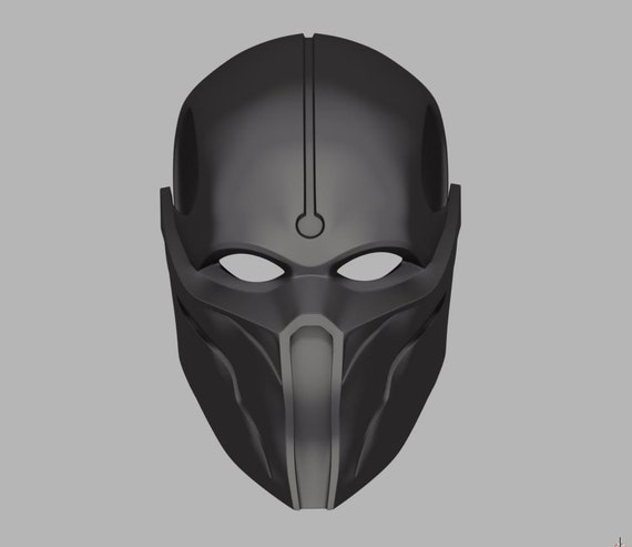 Noob Saibot Mask From Mortal Kombat 11 3d Model Stl And Obj Etsy