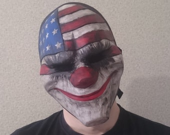 Dallas, PayDay 2, Cosplay, Mask, Game, Costume, Halloween, Props, PayDay
