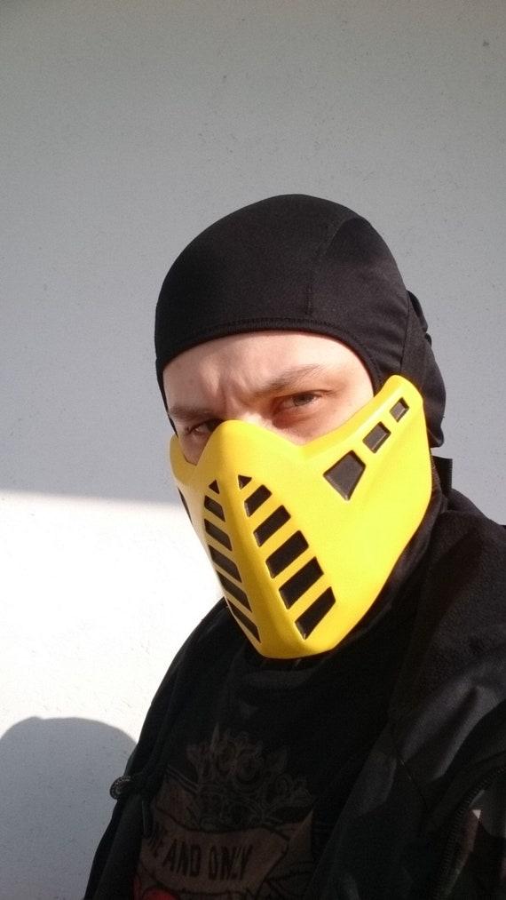 classic scorpion mortal kombat mask