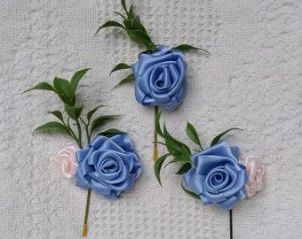 Rose Hair Pins - Bridal Hair Accessories - Bride - Bridesmaid - Flower girl - Prom