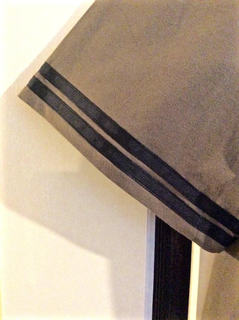 Mens army green Hebrew Israelite side-zipper short sleeve hoodie with black fringestassels and a ribbon of blue