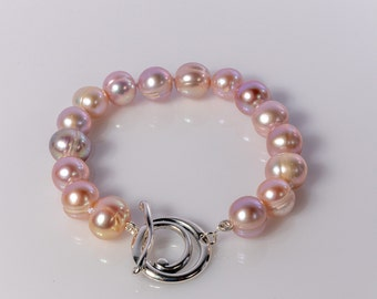 Freshwater Pearl Knotted Bracelet
