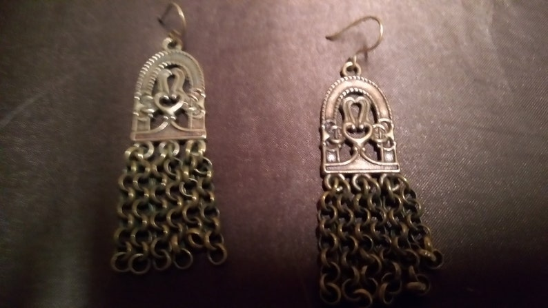 Necklace and Earrings Kalevala Jewelry Bronze Paradise