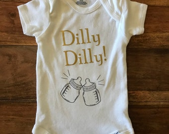 3a6c8c160 Dilly Dilly!/Baby onesie/funny onesie/Youth Shirt/Kids shirt