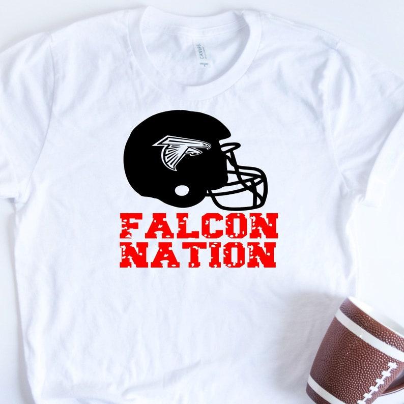 best sneakers f3294 db28c Falcon Nation, Atlanta Falcons, Georgia Football, Distressed Falcons  football, Game Day, Sunday football, womens football, ladies football