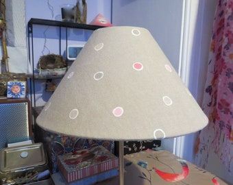 SALE Table/Ceiling Lampshade. Dotted pattern. Contemporary design.