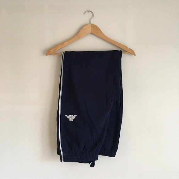 Kappa Jogging Bottoms Navy Blue