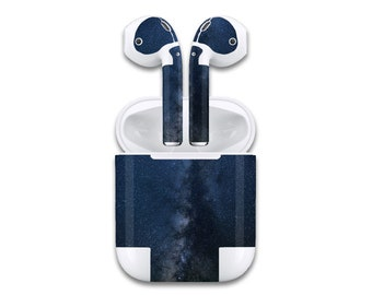 a74225ba325 AirPod Night Sky Stars Galaxy Air Pod Skin Wrap | Apple Decal Sticker  Earphones Label Anti Theft AirPod Cover