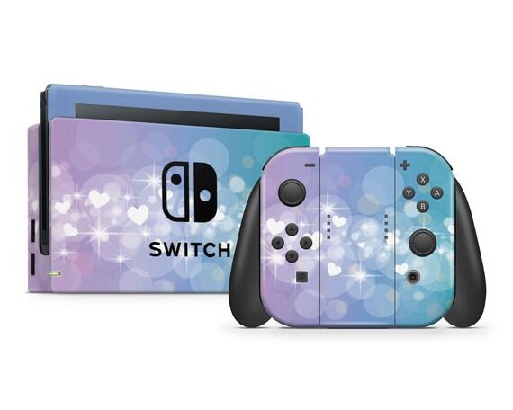 Süßen Herzen Nintendo Switch Haut Gamer Konsole Joycon Freude Con Dock Pro Controller Aufkleber Aufkleber Wrap Gaming Zubehör