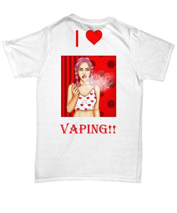 I love Vaping T Shirt