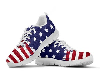 Patriotic shoes   Etsy