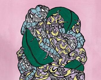 Poison Pop - Giclée art print