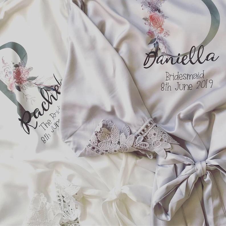 Blush Pink Robe Bride Robe Blush Wedding Wedding Party Robes New Colletion Bridal Robes Satin Wedding Robe Wedding Dressing Gown