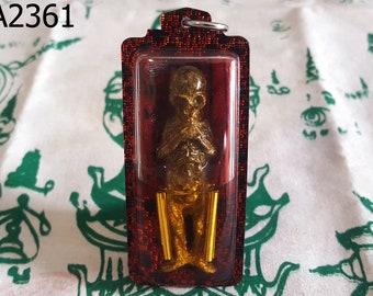 Phayayom Thai Amulets Talisman Prai Oil Powerful Magic Protection Evil Spirits